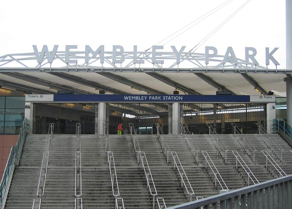 WEMBLEY PARK UNDERGROUND - UK – 5WL FINISH