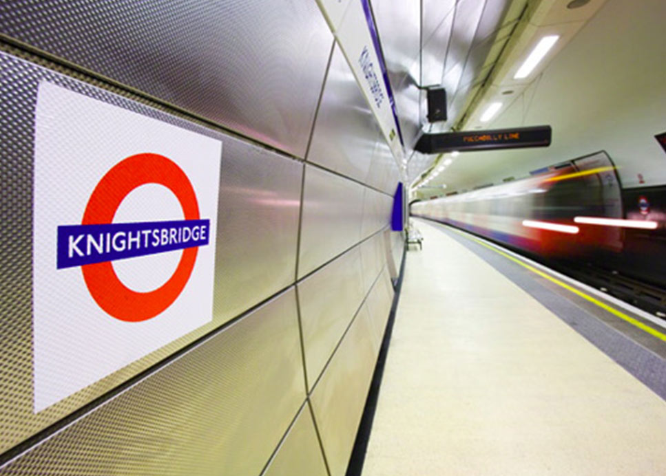 KNIGHTSBRIDGE UNDERGROUND - UK – 6WL FINISH