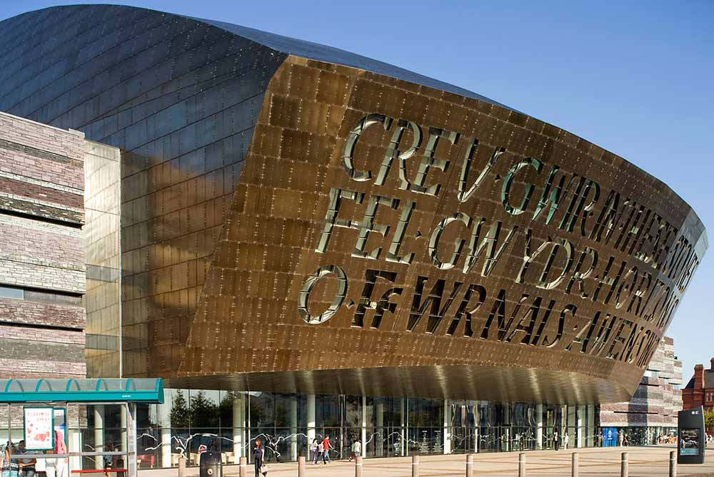 MILLENIUM CENTRE (GB) – FINITION 6WL BRONZE
